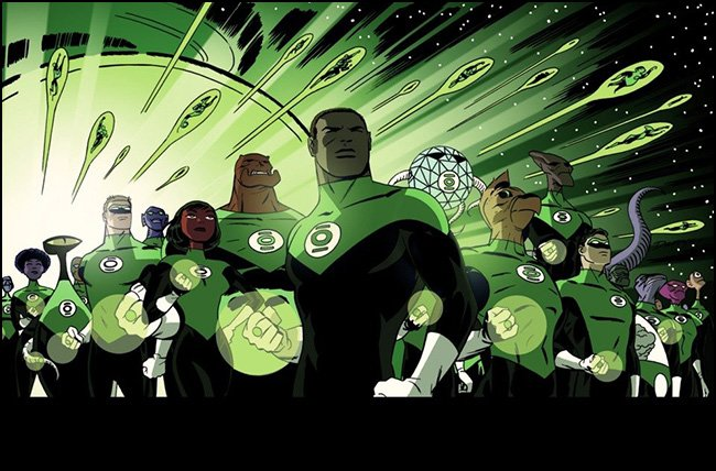 Darwyn Cooke Green Lantern Corps Variant