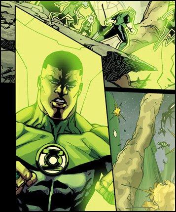 Green Lantern Corps #24 preview