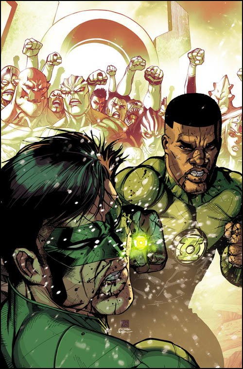 Green Lantern Corps #26 solicitation