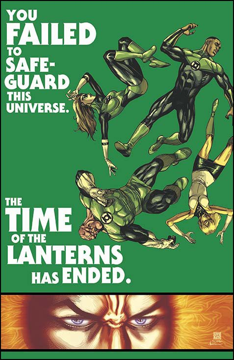 Green Lantern Corps #35 solicitation