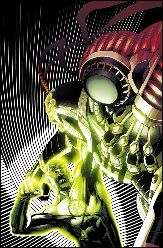 Green Lantern Corps #36 Solicit