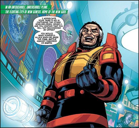 Green Lantern Corps #37 Preview