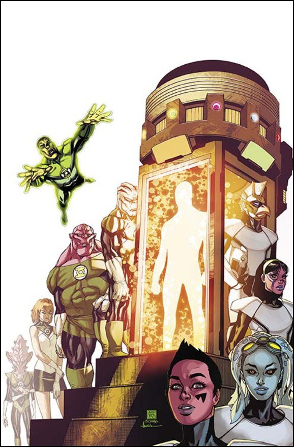Green Lantern Corps #37 Solict