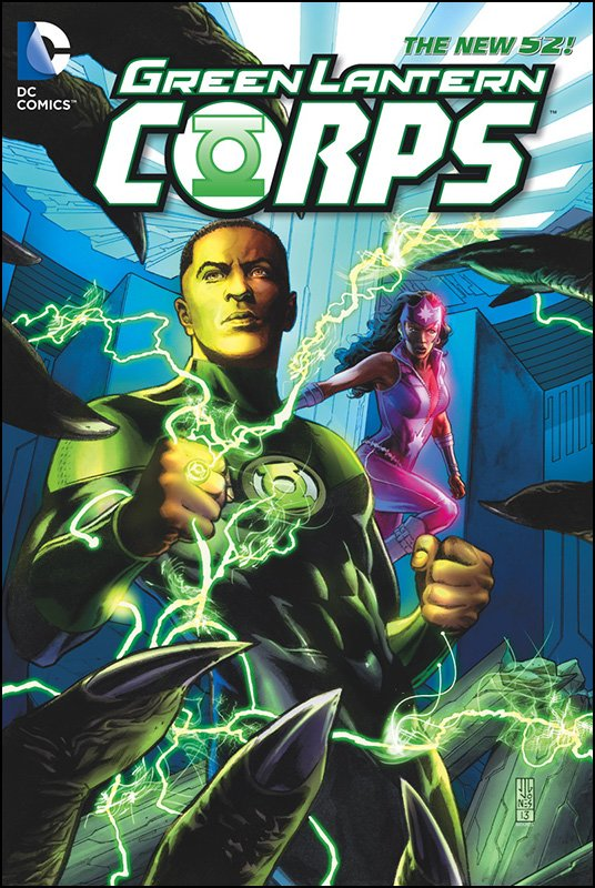 Green Lantern Corps Vol. 4 solicitation