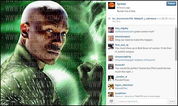 Green Lantern Tyrese