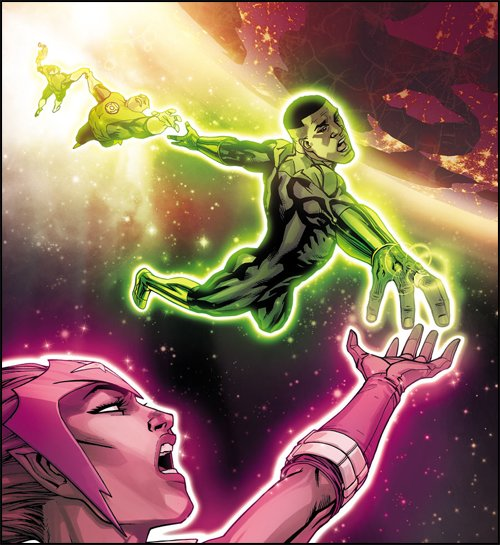 Green Lantern Corps #23 Review