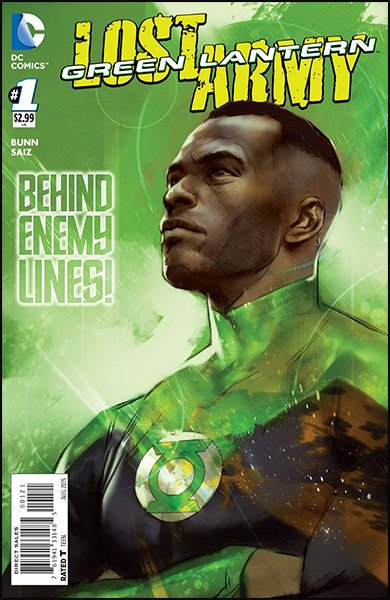 Green Lantern: Lost Army #1