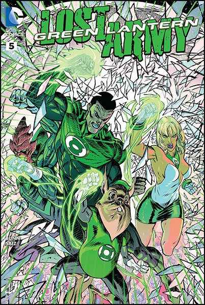 Green Lantern: Lost Army #2