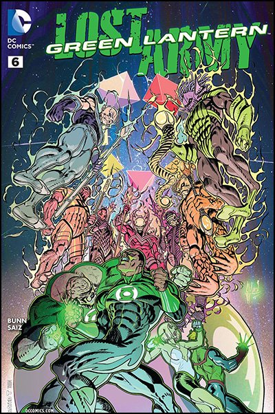 Green Lantern: Lost Army #6
