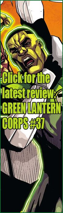 Green Lantern Corps #37 Review