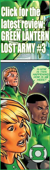 Green Lantern: Lost Army #3 Review